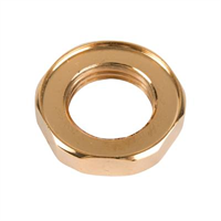 Locking nut -1/2″, gold