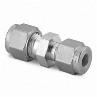 Connection -Swagelok, Straight, 3/8″-12mm, SS